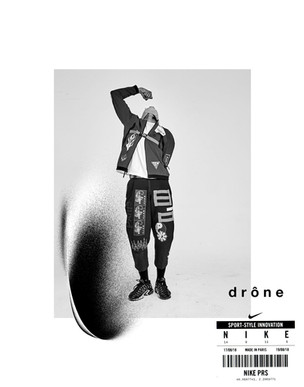 Drône X Nike