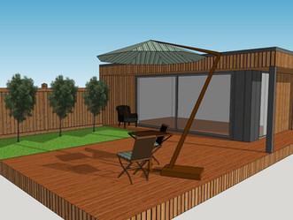 Garden Rooms with Studio4 Architecture, Harrogate