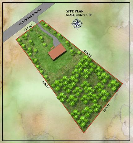 Underwood Site Plan