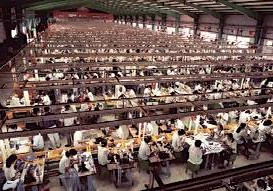 縫製工場・失神する労働者②