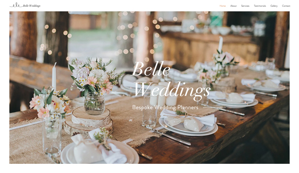 Weddings & Celebrations website templates – Wedding Planner