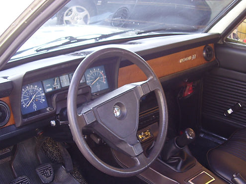 Alfa Romeo 2300 B 1978 Painel