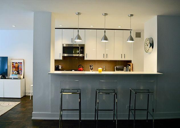 New York City Apartment Open-Kitchen Dec