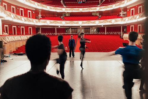 Master Watching Dancer's Pirouettes