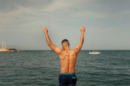 Man Praising The Sea