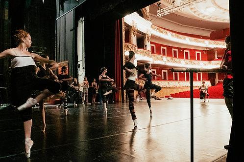 Ballerinas On Pirouettes