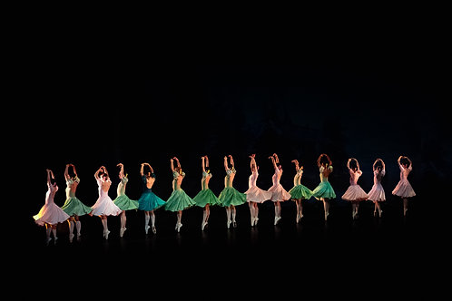 Dancers On A Scene From Giselle