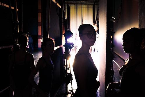 Dancers Waiting on Backstage