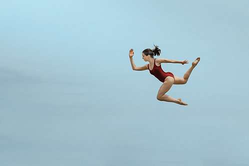 Dancer Flying In The Sky