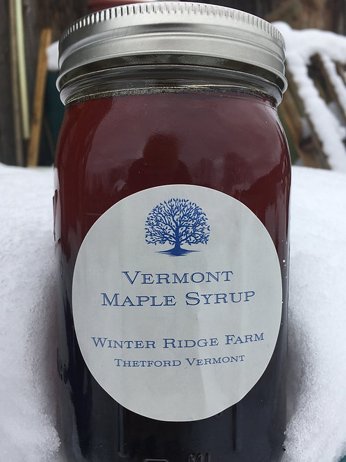 Maple Syrup from Winter Ridge Farm