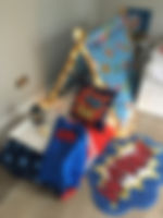 Superhero Sleep over