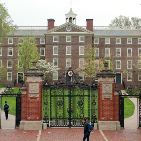 I almost went to Brown University