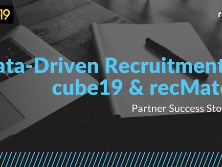 Data-Driven Recruitment: cube19 and recMate