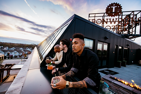 Indianapolis hotel rooftop, Ironworks
