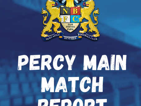 Benfield vs Percy Main: Match Report