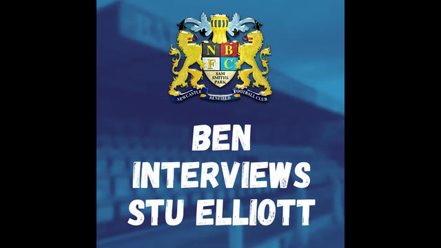 Ben catches up with Stu ahead of Ashington!