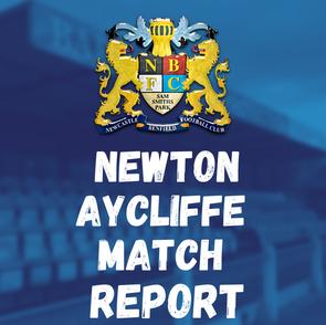 Newton Aycliffe vs Benfield: Match Report