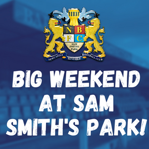 A huge weekend at Sam Smith's Park!