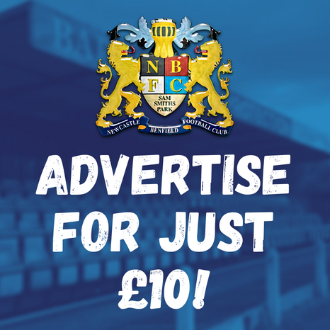 Advertise with Benfield for just £10!