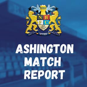 Ashington vs Benfield: Match Report
