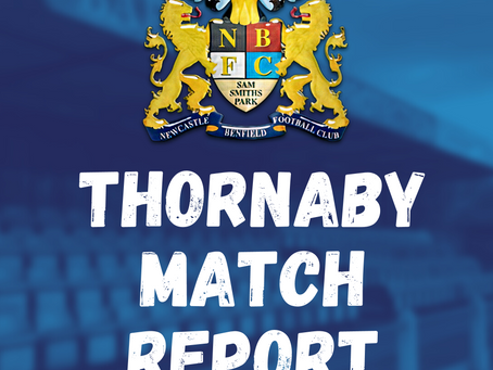 Thornaby v Benfield: Match Report