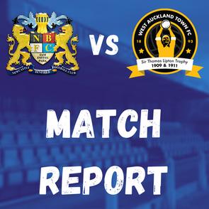 Lions v West Auckland: Match Report