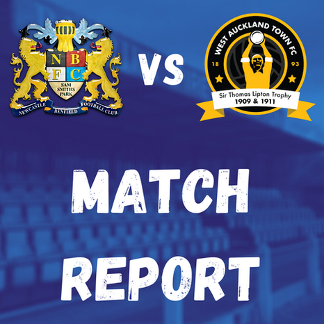 Lions v West Auckland: Match Report