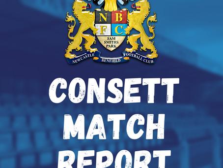 Benfield vs Consett: Match Report