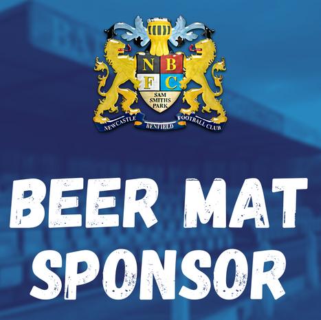 Sponsor NBFC's Beer Mats!