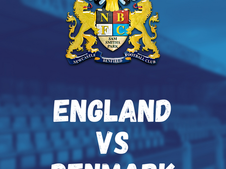 England vs Denmark at Sam Smith's Park!