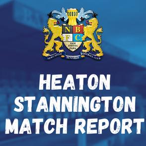 Benfield vs Heaton Stannington: Match Report