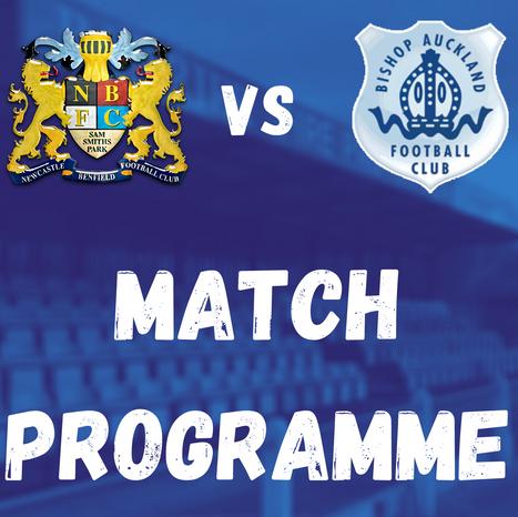 Lions vs Bishop Auckland: Match Programme