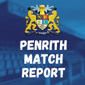 Benfield vs Penrith: Match Report