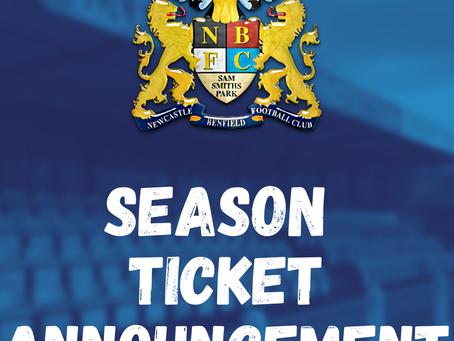 2021-2022 Season Ticket Information