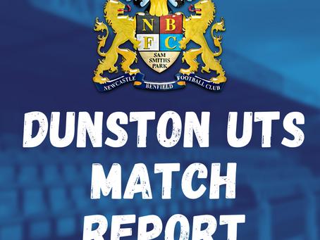 Benfield vs Dunston UTS: Match Report