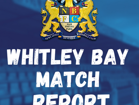 Whitley Bay vs Benfield: Match Report