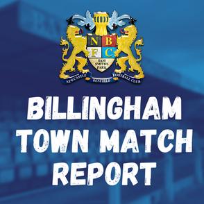 Benfield vs Billingham Town: Match Report