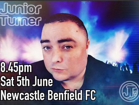 Junior Turner at Benfield!