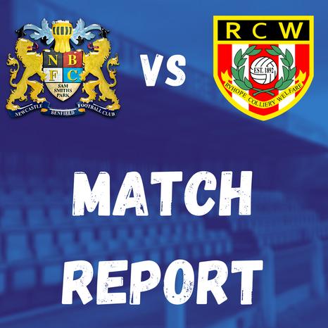 Lions v Ryhope CW: Match Report