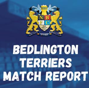 Benfield vs Bedlington Terriers: Match Report