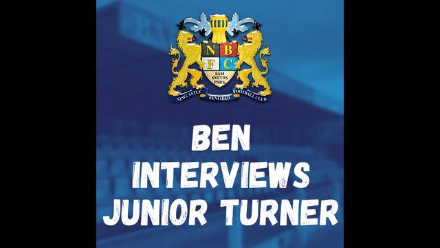 Ben Interviews Junior Turner
