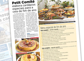 Buffet Petit Comité no Metrô News
