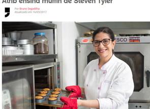 Aprenda a fazer o muffin de blueberries favorito de Steven Tyler, do Aerosmith