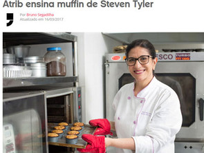 Aprenda a fazer o muffin de blueberries favorito de Steven Tyler, do Aerosmith