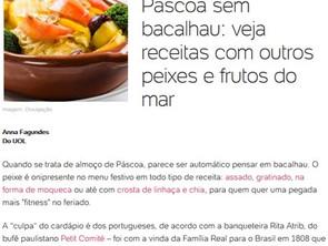 Dicas da chef Rita Atrib para a Páscoa