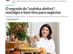 Chef Rita Atrib fala sobre Comfort Food na Veja SP