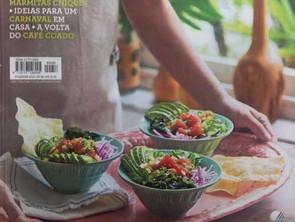 Chef Rita Atrib dá dicas na revista Casa e Comida