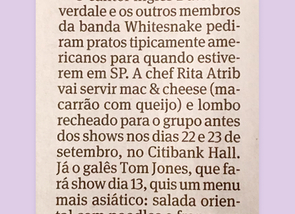 Petit Comité nos shows de Whitesnake e Tom Jones