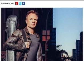 Delícias típicas do Petit Comité no show do Sting