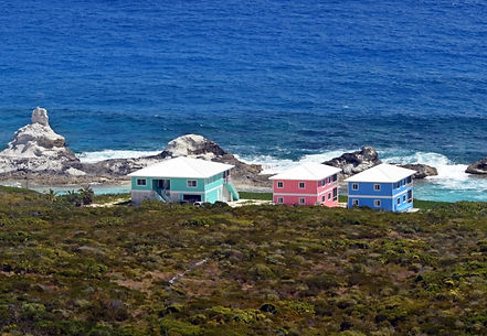Bahama Dreamin Oceanfront Villas - Green House, Pink Conch and Blue Lagoon Villas |